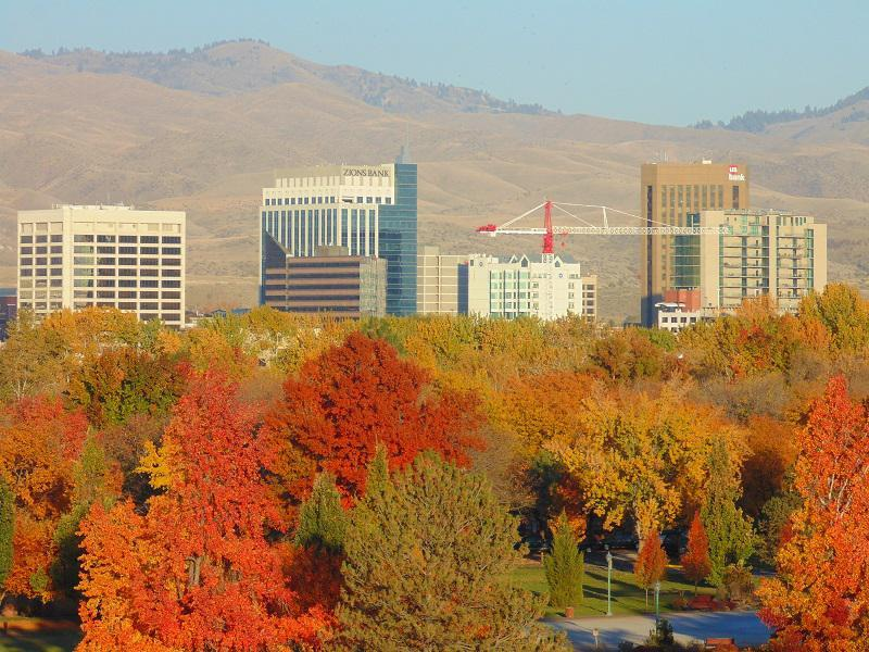 Colorful Fall Photos of Idaho