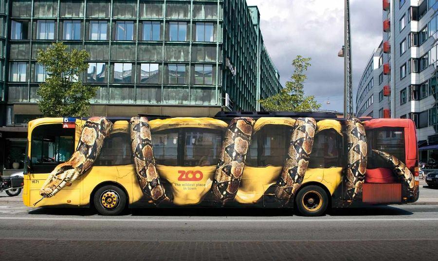 Copenhagen Zoo Bus