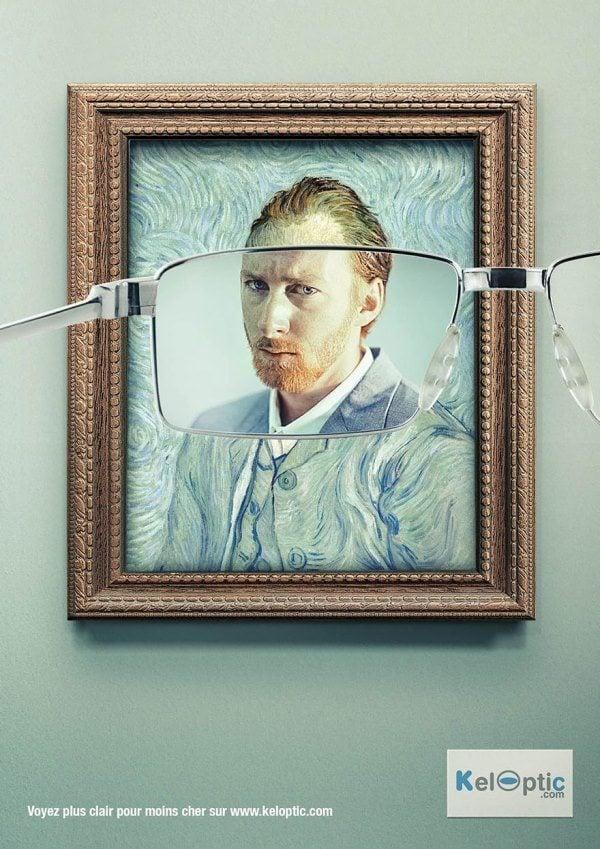 Creative Ads Glasses