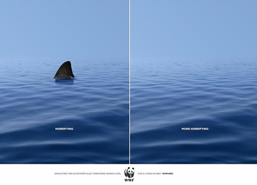 Creative Ads World Wildlife Federation