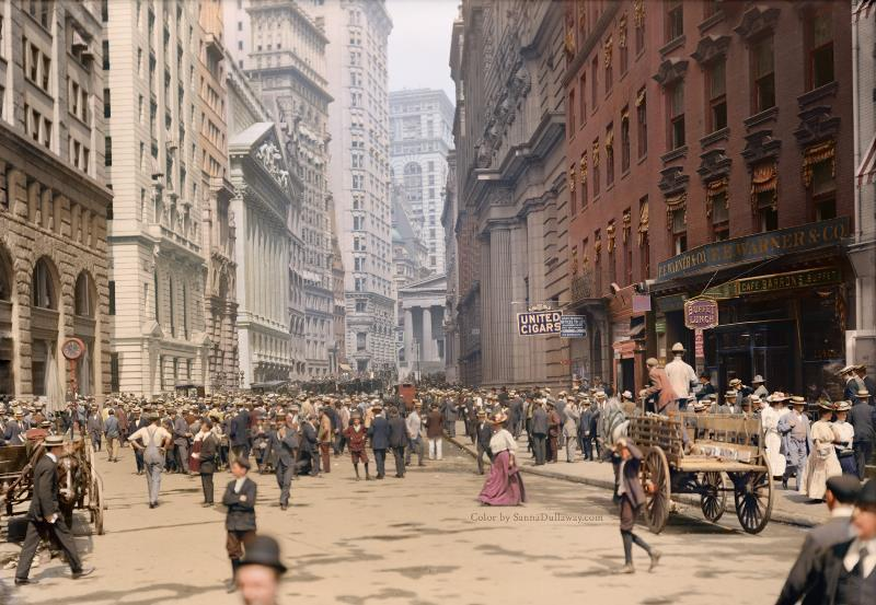 Curb Market In New York City 1900