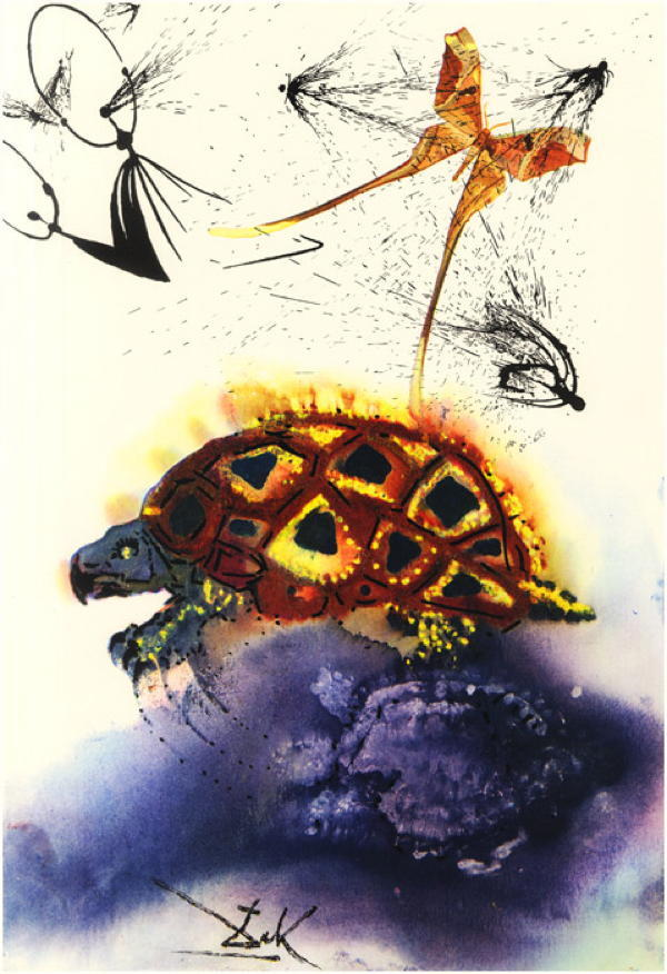 Dali Alice In Wonderland Mock Turtle