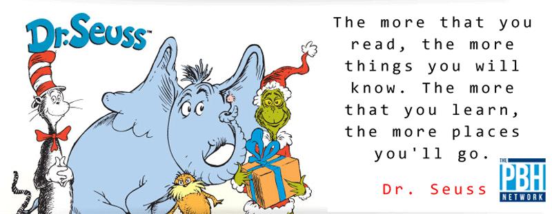 Dr. Seuss On Reading