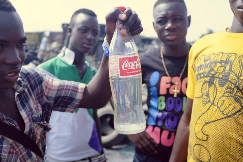 Agbogbloshie Coca Cola
