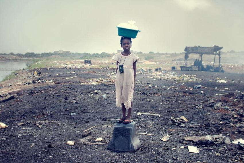 Agbogbloshie Water Bag
