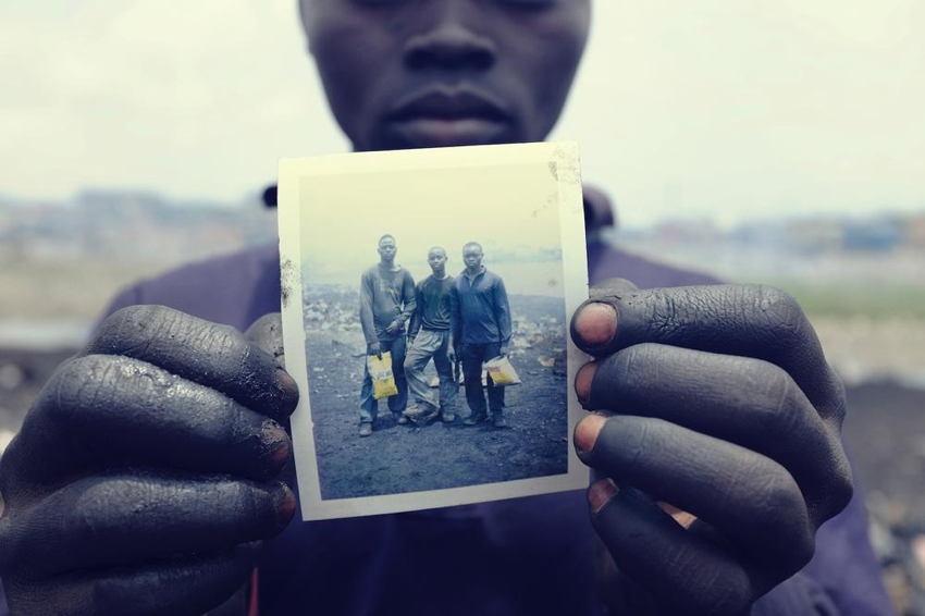 Agbogbloshie Polaroid