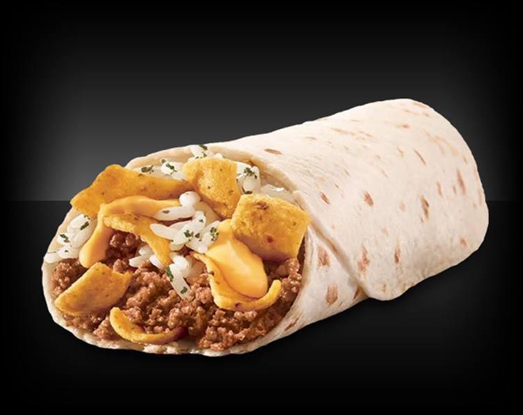 Fast Food Frito Burrito