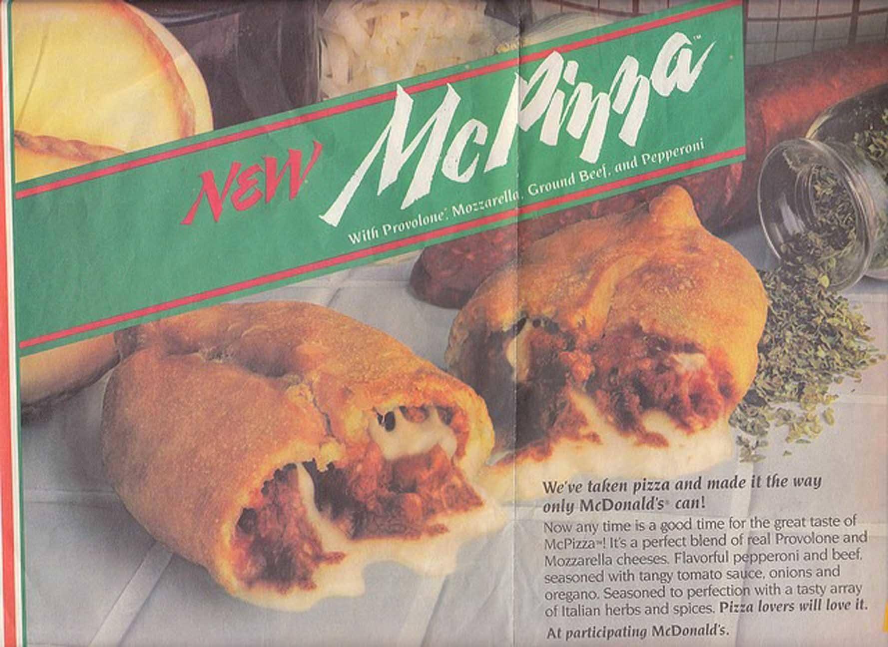Fast Food McPizza
