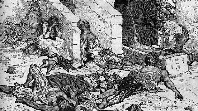 Flu Plague Victims