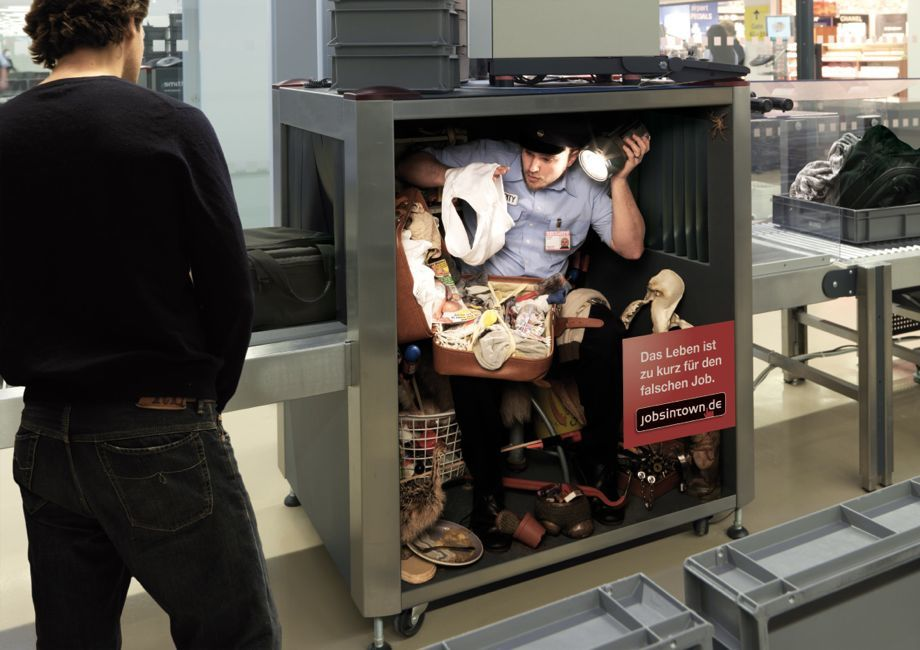 Funny Airport Security Ad