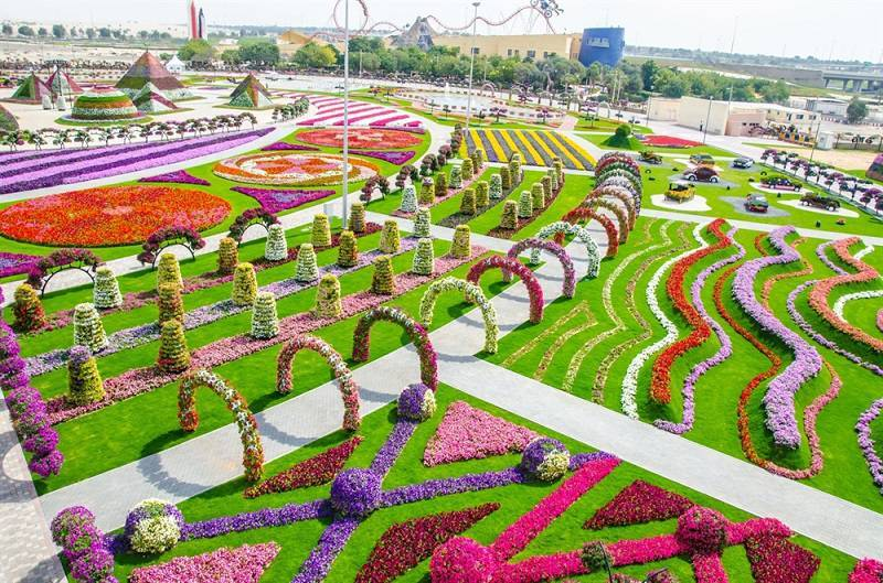 Gardens Around the World in Dubai