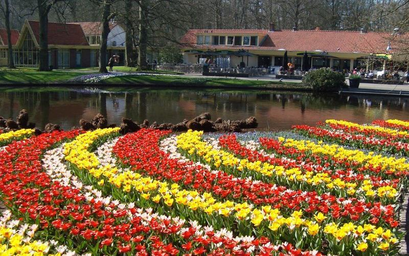 Keukenhof Garden in Holland