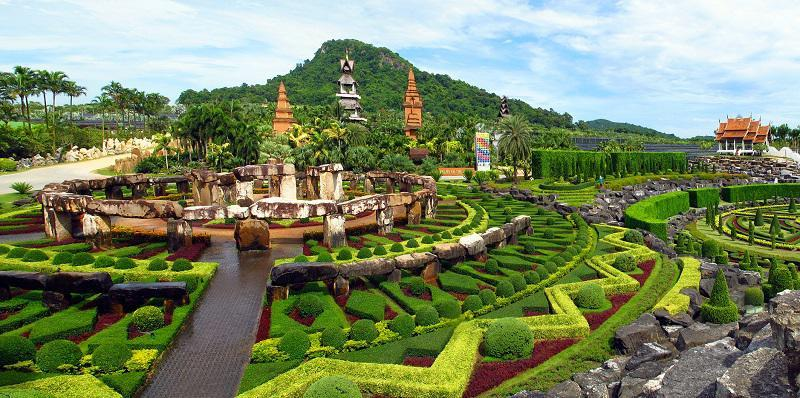 Nong Nooch Botanical Gardens Around the World