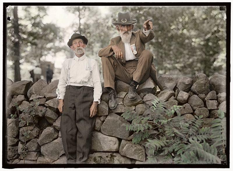 Gettysburg Veterans 1913