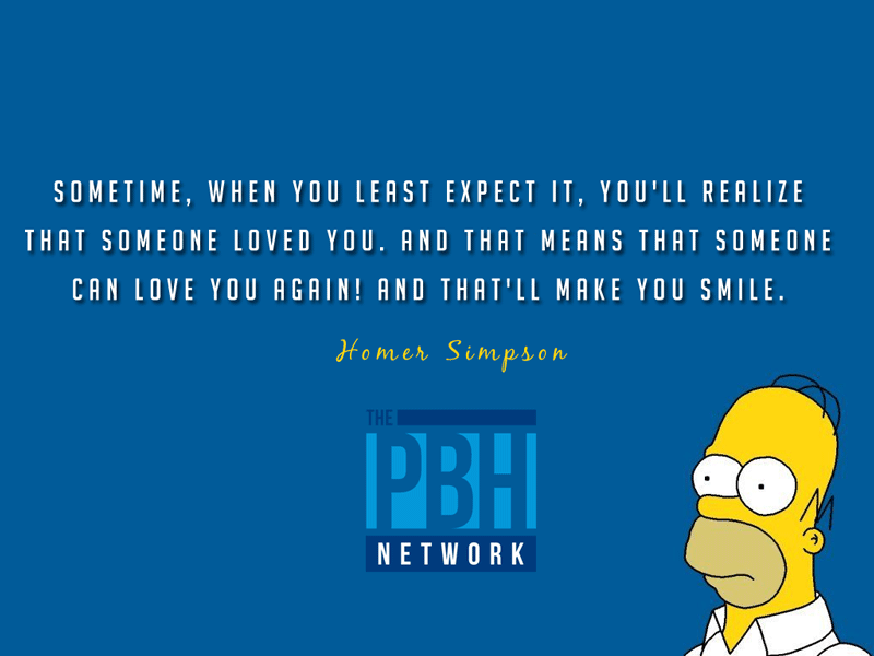 Homer Simpson Inspirational Quotes On Love