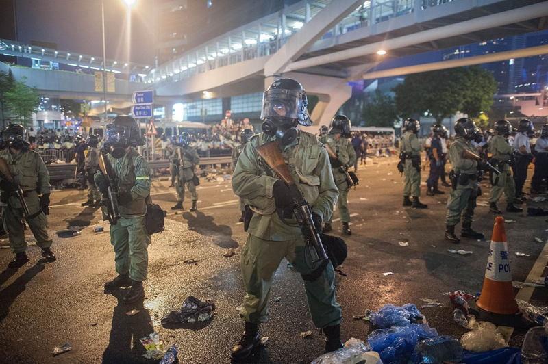 Hong Kong Protests Armed