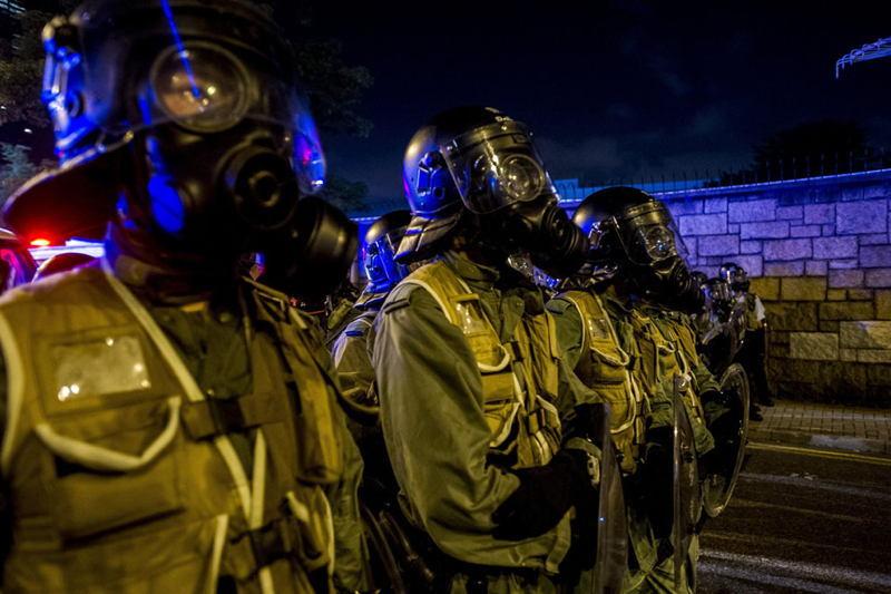 Hong Kong Protests Gas Masks