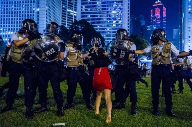 Hong Kong Protests Girl