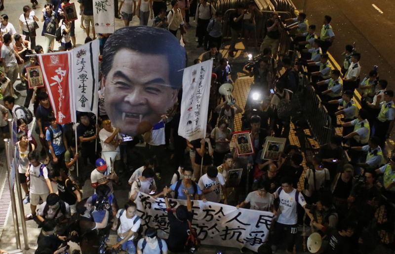 Hong Kong Protests Chun Ying