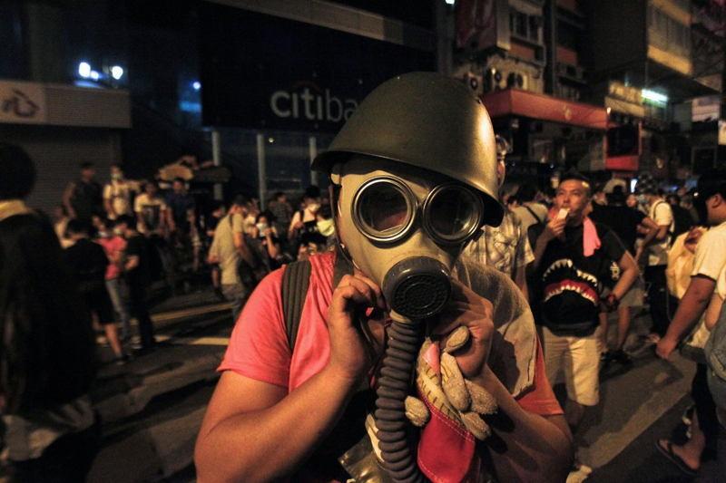 Hong Kong Protests Mask Doll