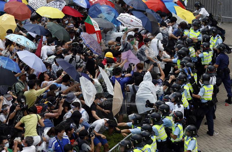 Hong Kong Protests Shields