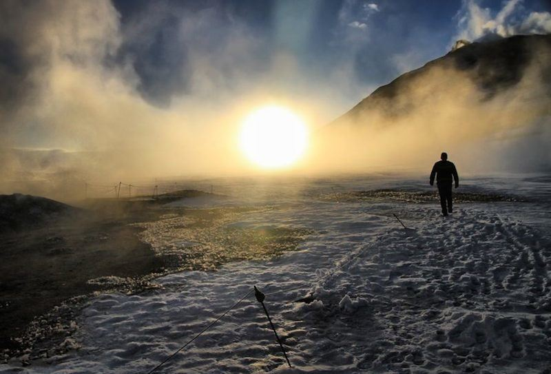 Iceland's Economic Upswing Sun
