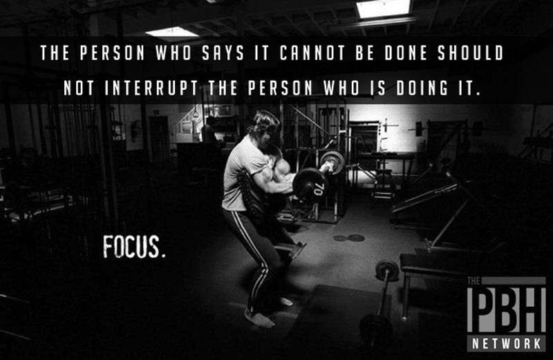 Inspirational Quotes Focus