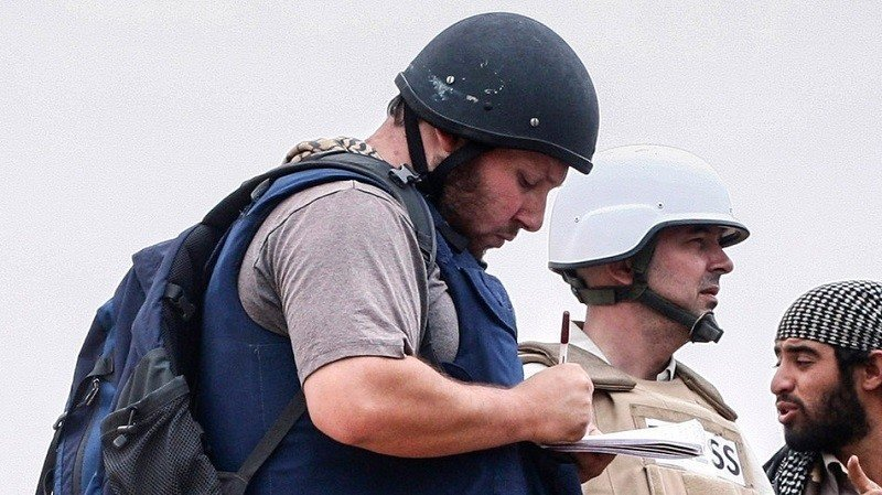 Steven Sotloff in the Field