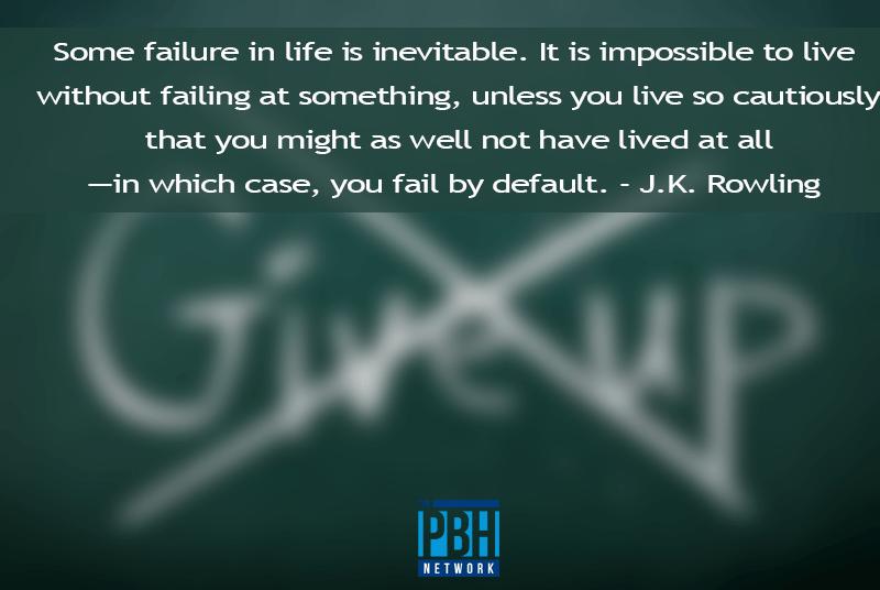 JK Rowling On Failure