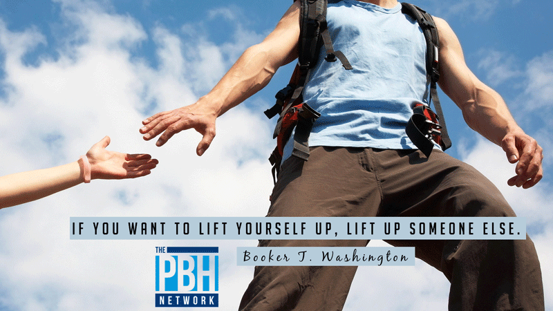 Lift Up Someone Else