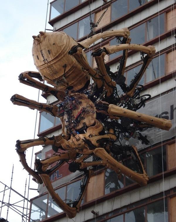 Long Ma in Liverpool La Machine