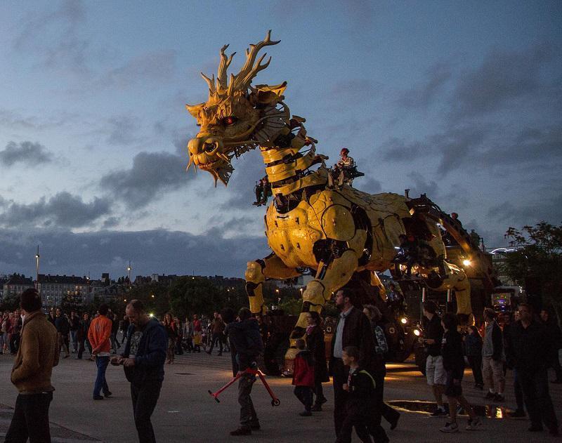 Long Ma Mechanical Horse Dragon