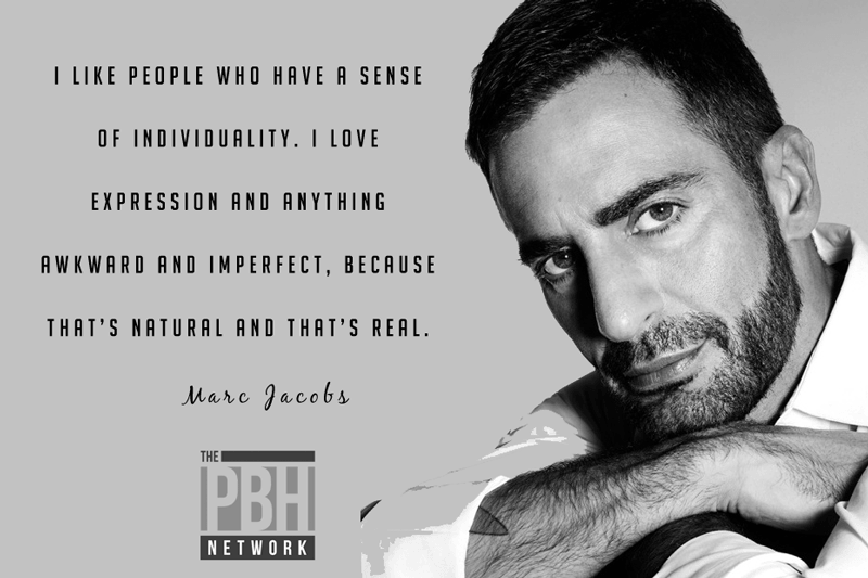 Marc Jacobs On Individuality