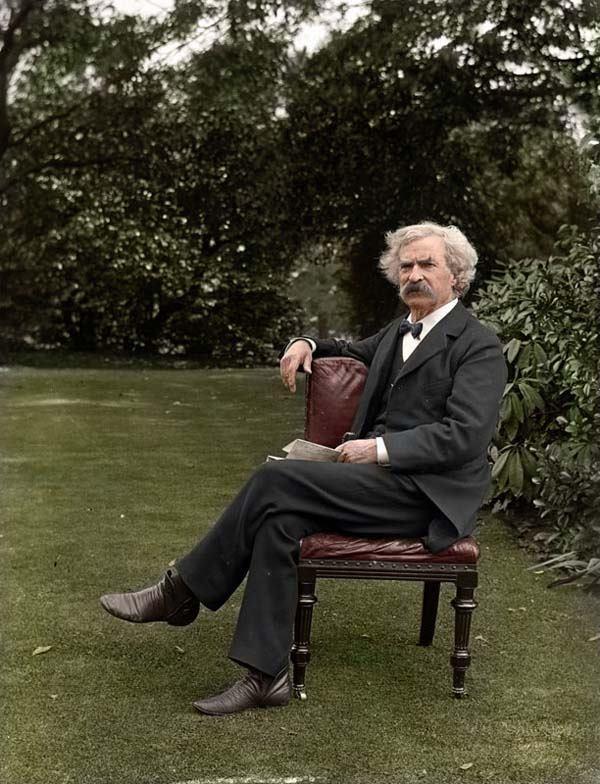 Mark Twain In Color