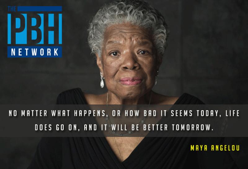 Motivational Maya Angelou Quote