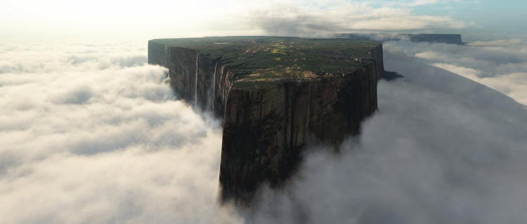 Mount Roraima Weirdest Natural Places Clouds