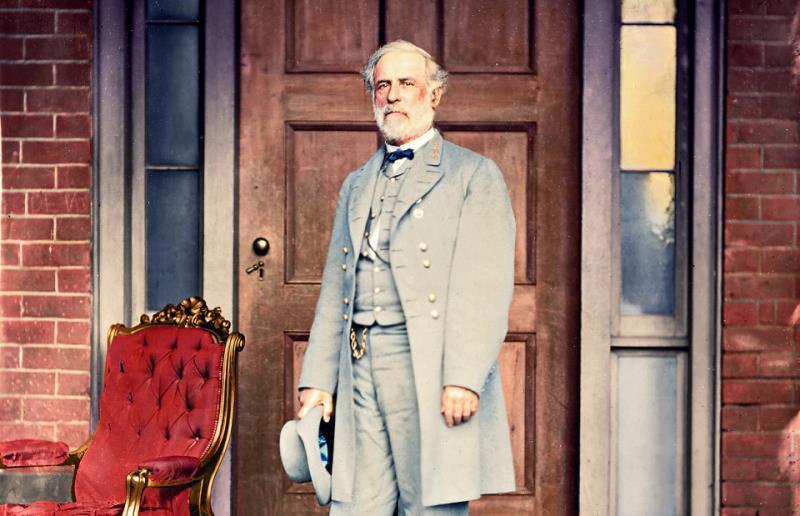Robert E. Lee In Color