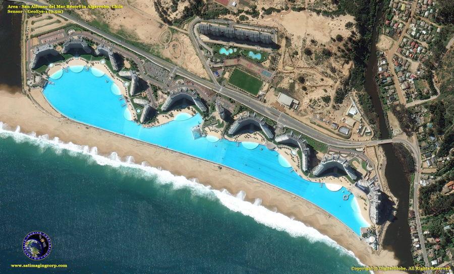 Satellite Images Valparaiso