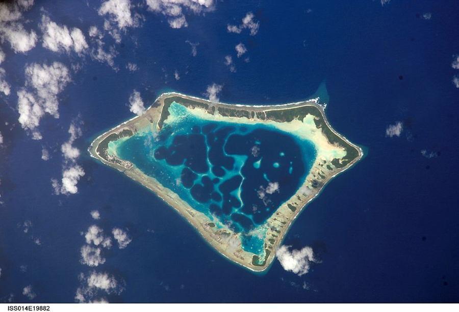 Satellite Images Atafu Atoll