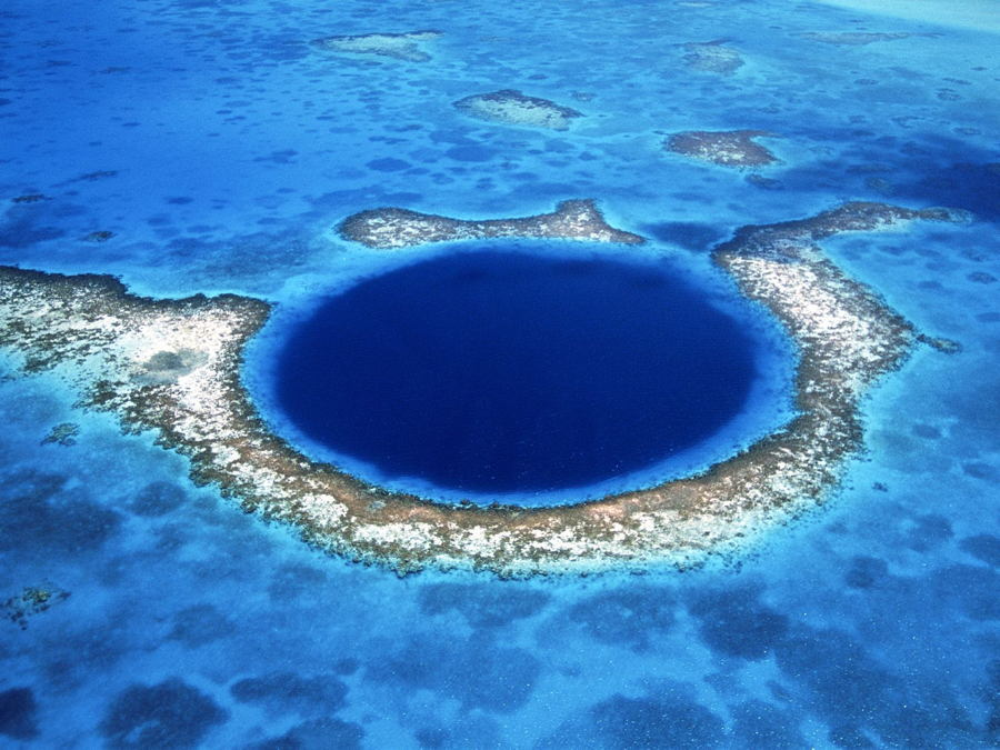 Satellite Images Great Blue Hole