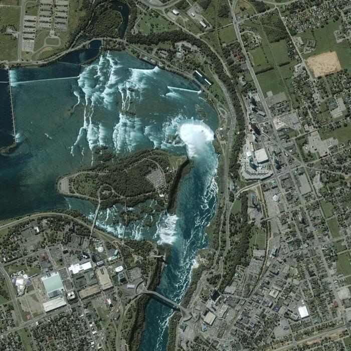 Satellite Images Niagara Falls