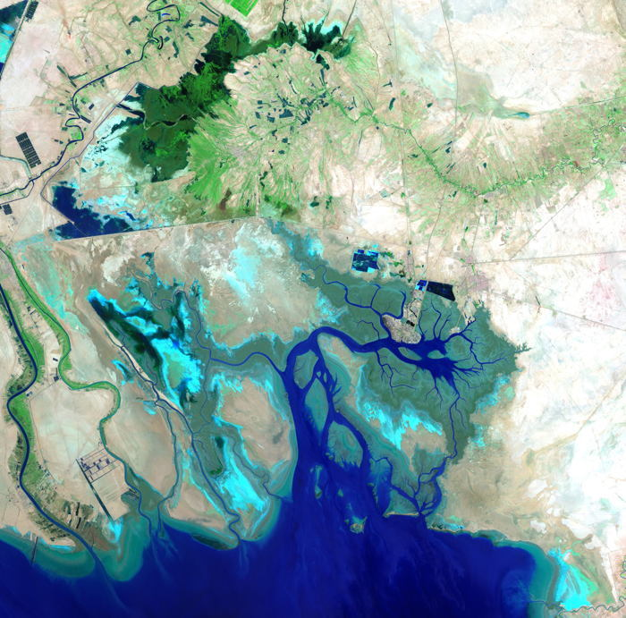 Satellite Images Persian Gulf