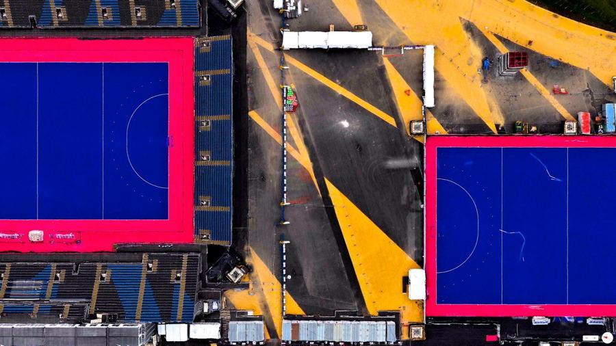 Satellite Images Riverbank London