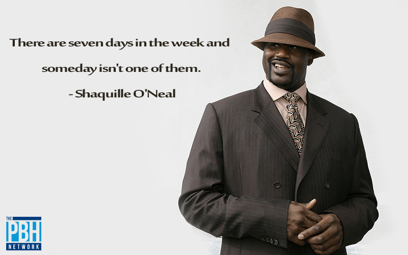 Shaq On Doing Things Today