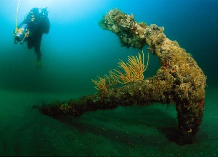 Sunken Ships Anne Anchor
