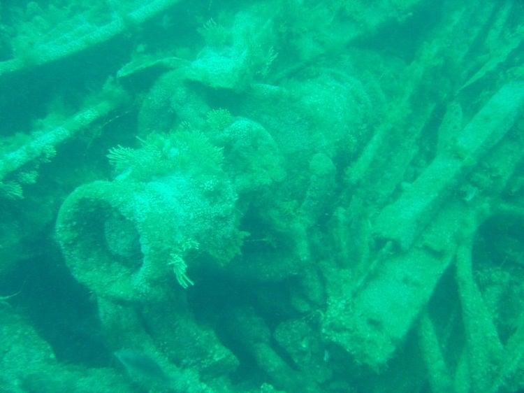 Sunken Ships Lusitania Winch