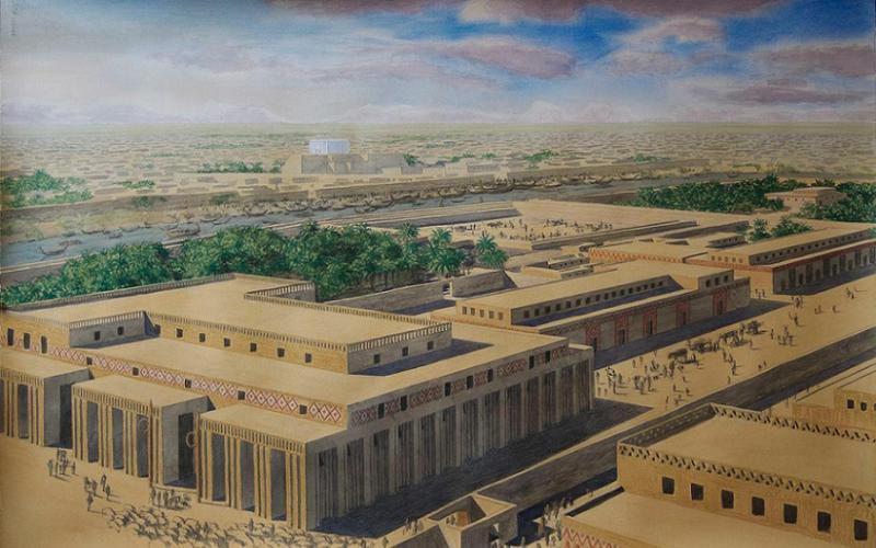 World Before God Mesopotamia Temple