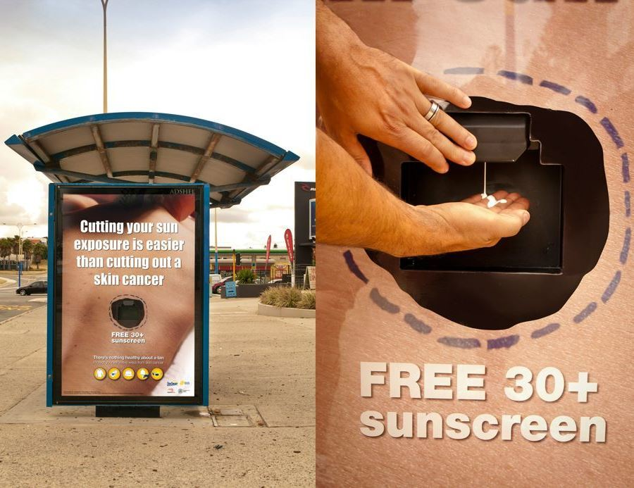 Sunscreen Ad