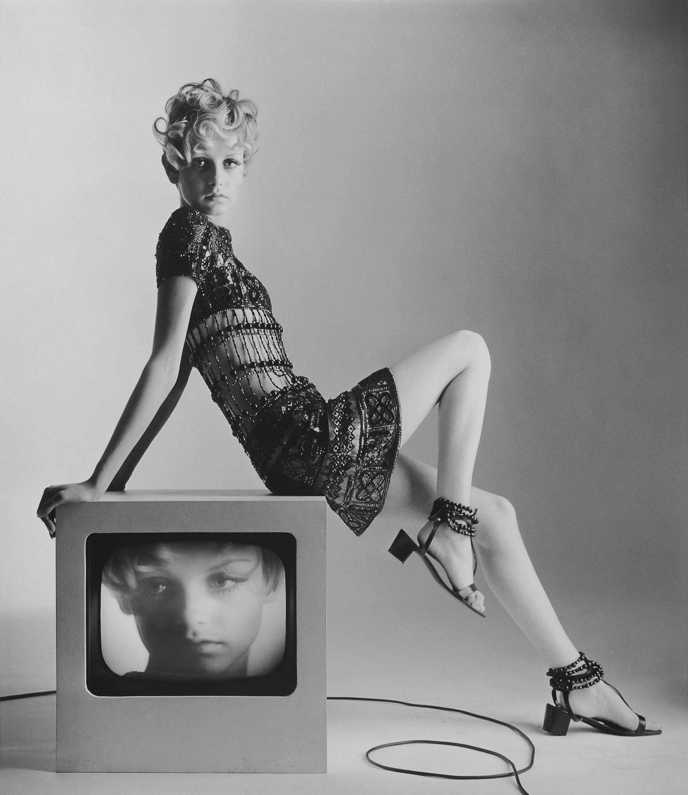 Twiggy, The Iconic Female Mod.