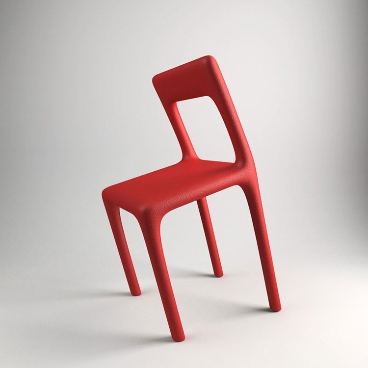 Useless Products Red Chair